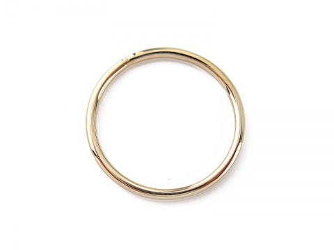 Gold Filled Closed Jump Ring 15mm ~ 18ga