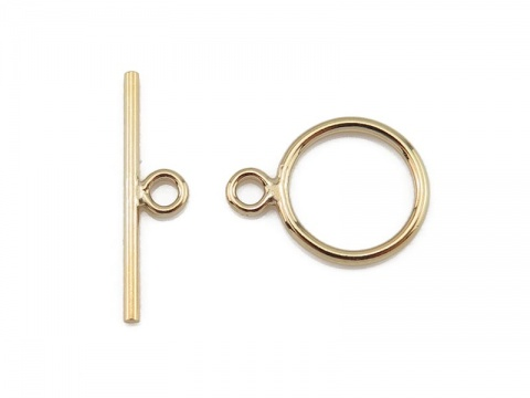 Gold Filled Toggle and Bar Fastener 10mm