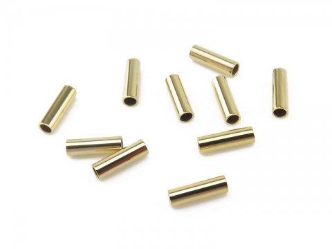 Gold Filled Straight Tube 5mm x 1.5mm