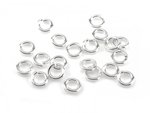 Sterling Silver Open Jump Ring 3.5mm ~ 20ga ~ Pack of 20