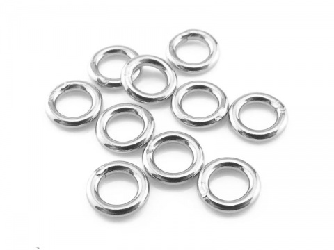 Sterling Silver Closed Jump Ring 5mm ~ 18ga ~  Pack of 10