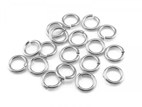 Sterling Silver Open Jump Ring 4mm ~ 22ga ~ Pack of 20