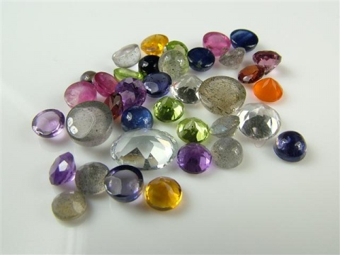 Mixed Cut Gemstones - SECONDS