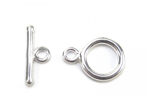 Sterling Silver Toggle and Bar Clasp 9mm