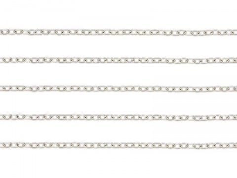 Sterling Silver Cable Chain 1.6 x 1.2mm ~ Offcuts