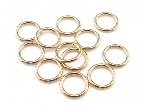 Gold Filled Closed Jump Ring 7mm ~ 19ga