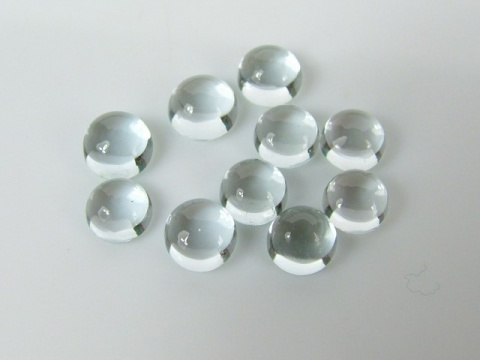 Aquamarine Cabochon Round ~ Various Sizes