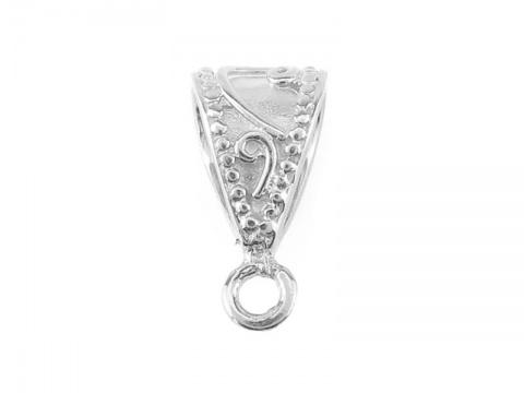 Sterling Silver Ornate Bail 14mm