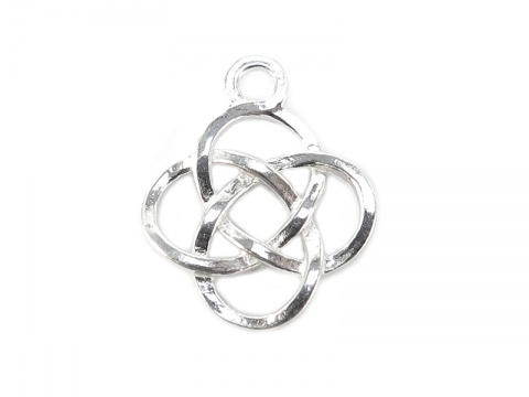 Sterling Silver Celtic Pendant 14.5mm