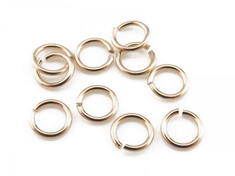 Gold Filled Open Jump Ring 3.5mm ~ 24ga ~ Pack of 10