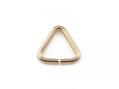 Gold Filled Open Triangle Component 5mm