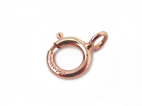 Rose Gold Filled Spring Ring Clasp 5mm