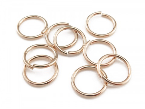 Gold Filled Open Jump Ring 10mm ~ 18ga