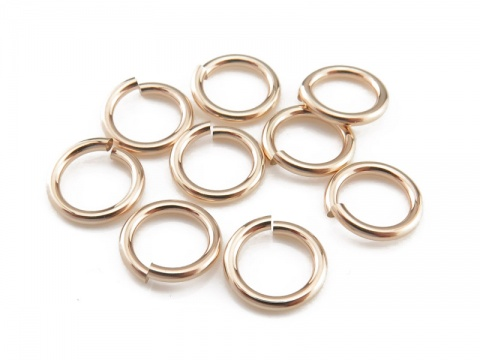 Gold Filled Open Jump Ring 7mm ~ 18ga
