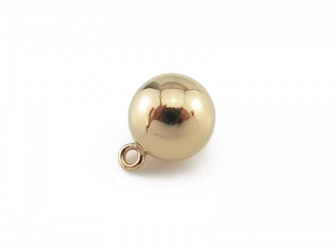 Gold Filled Ball Charm 6mm