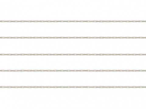 Sterling Silver Beading Chain 0.5mm ~ by the Foot