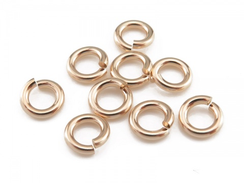 Gold Filled Open Jump Ring 6mm ~ 16ga