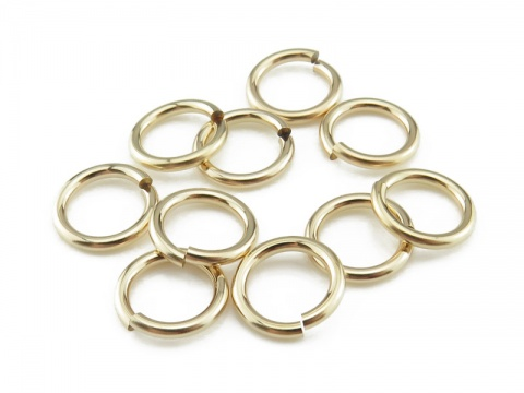 Gold Filled Open Jump Ring 9mm ~ 16ga