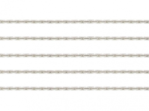 Sterling Silver Beading Chain 0.7mm ~ by the Foot
