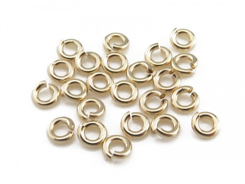 Gold Filled Open Jump Ring 3mm ~ 20ga ~ Pack of 20
