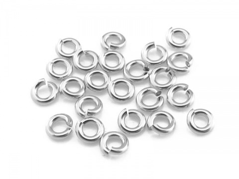 Sterling Silver Open Jump Ring 3mm ~ 20ga ~ Pack of 20
