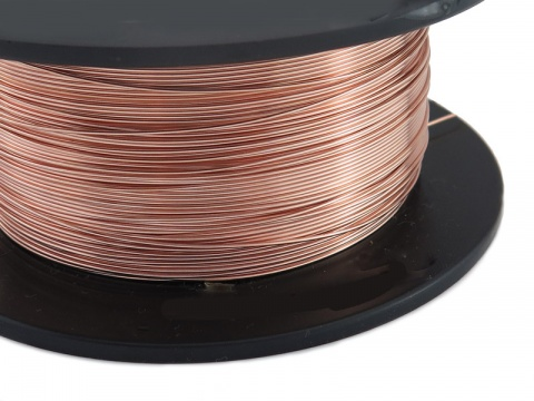 Rose Gold Filled Wire ~ 26 Gauge (0.4mm) ~ Soft ~ Round ~ by the Foot