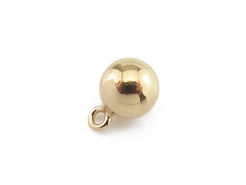 Gold Filled Ball Charm 5mm