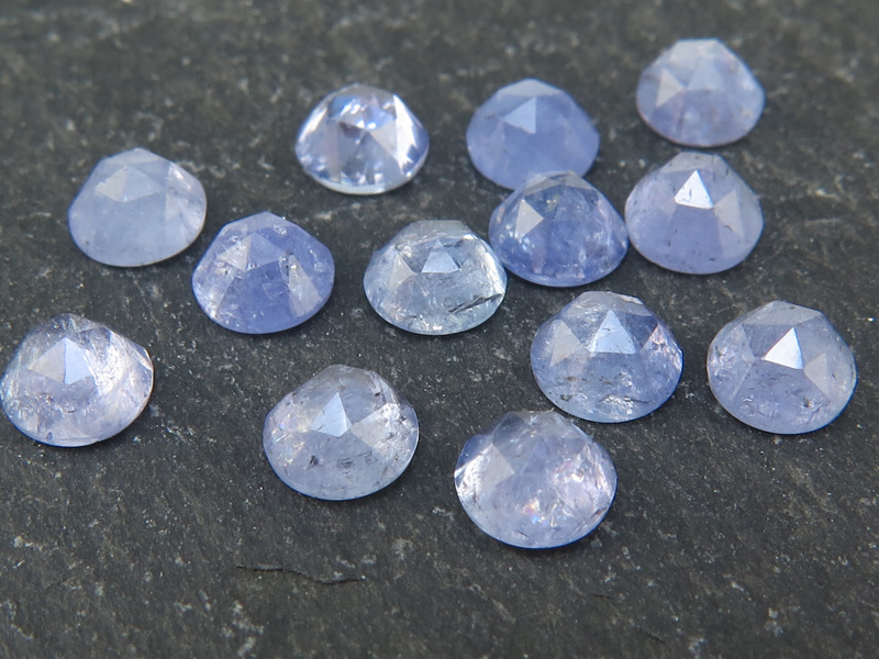 Tanzanite Rose Cut Cabochon ~ Various Sizes
