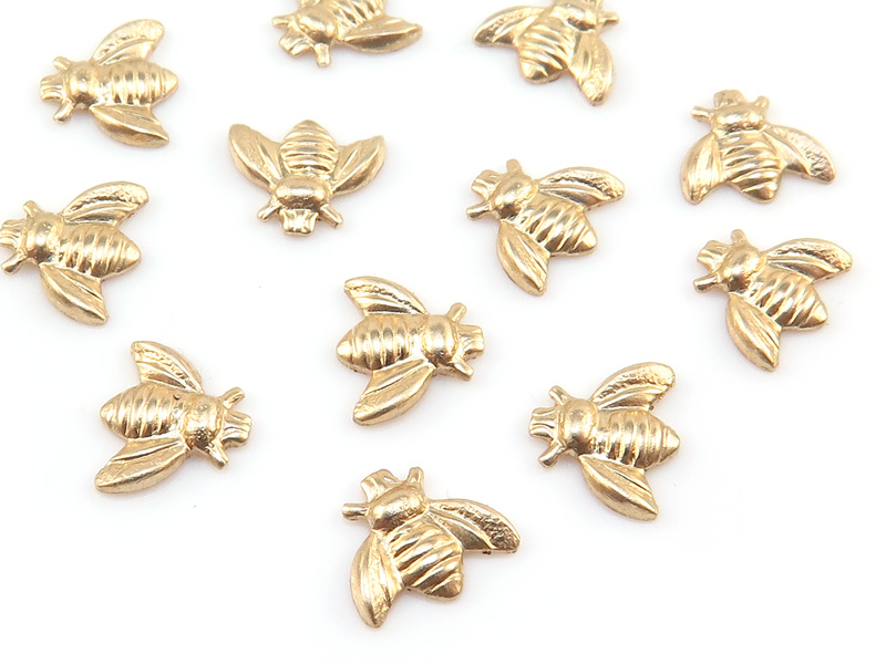 Gold Filled Bee Solderable Accent 6.25mm
