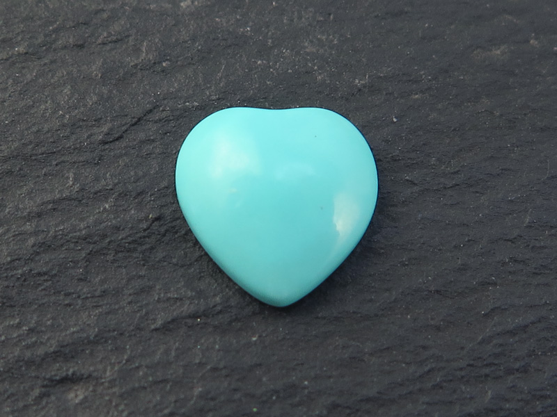 Turquoise Heart Cabochon ~ Various Sizes