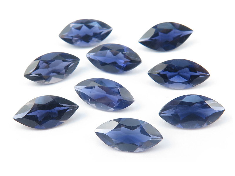 Iolite Faceted Marquise ~ Various Sizes