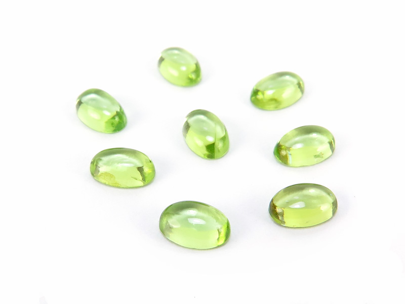 Peridot Oval Cabochon ~ Various Sizes