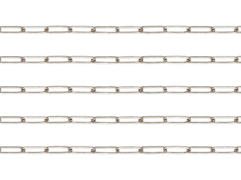 Sterling Silver Drawn Cable Chain 5.5mm ~ by the Foot