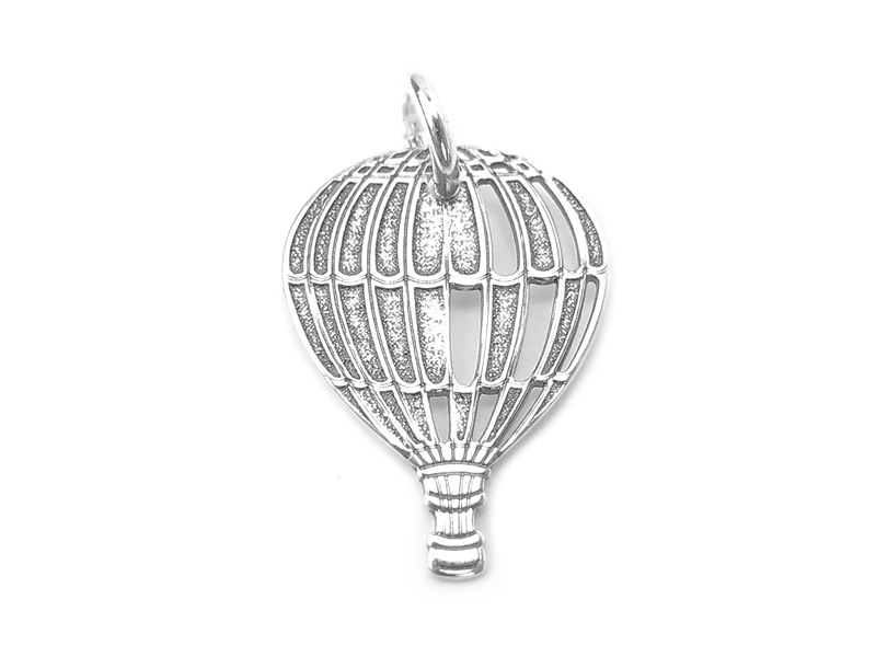 Sterling Silver Balloon Pendant 17mm