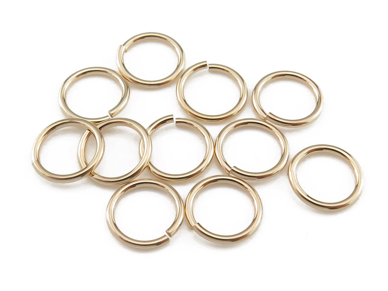 Gold Filled Open Jump Ring 8mm ~ 20ga