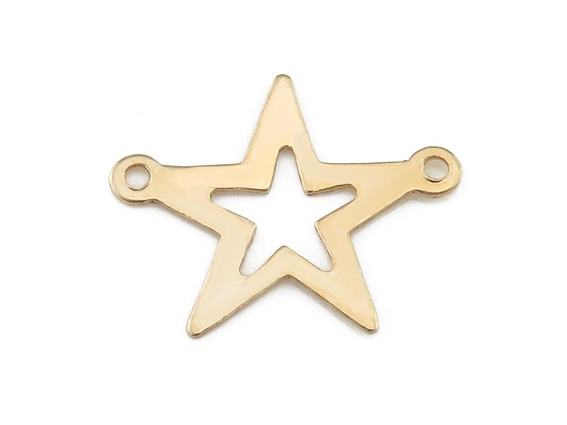 Gold Filled Star Connector 16.5mm
