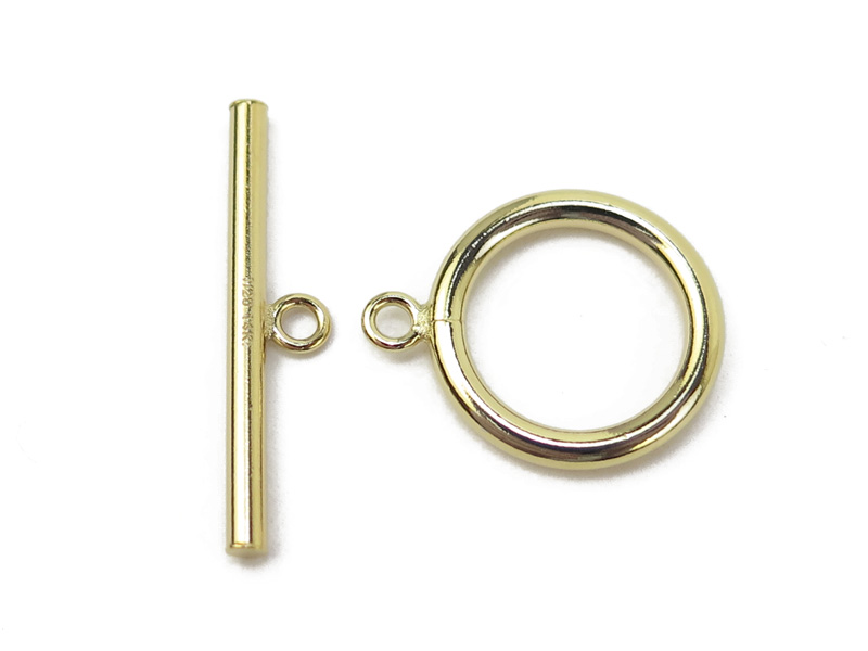 Gold Filled Toggle and Bar Fastener 15mm