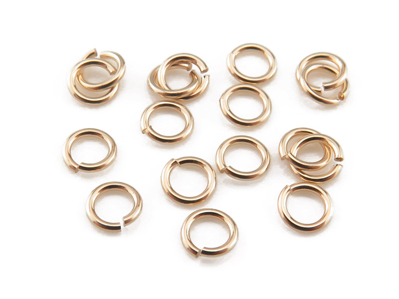 Gold Filled Open Jump Ring 3mm ~ 24ga ~ Pack of 10