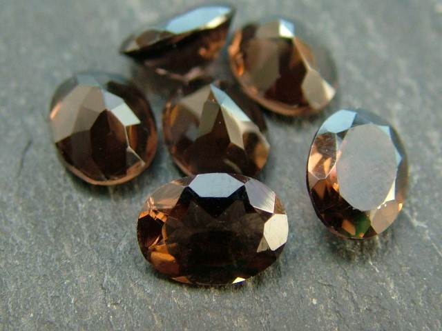 Smoky Quartz Faceted Oval ~ Various Sizes